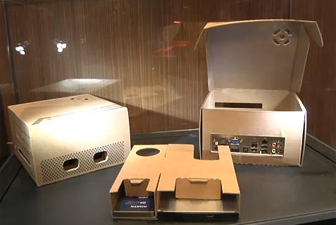 Boitier Mini-ITX en carton signé Asus