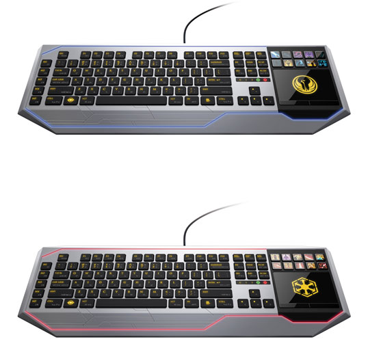 Clavier Razer Star Wars The Old Republic