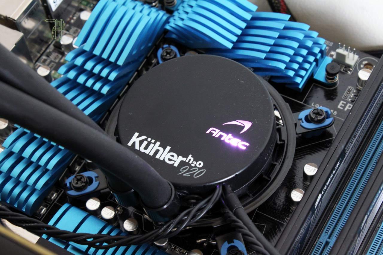 Kühler H20 920 : Echangeur compact
