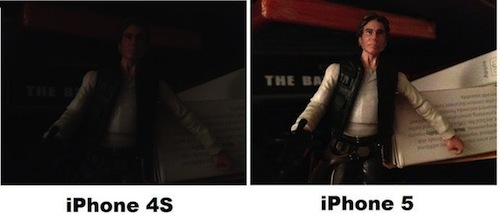 Photo : iPhone 4S Vs iPhone 5