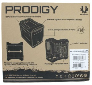 Prodigy : Carton d'emballage