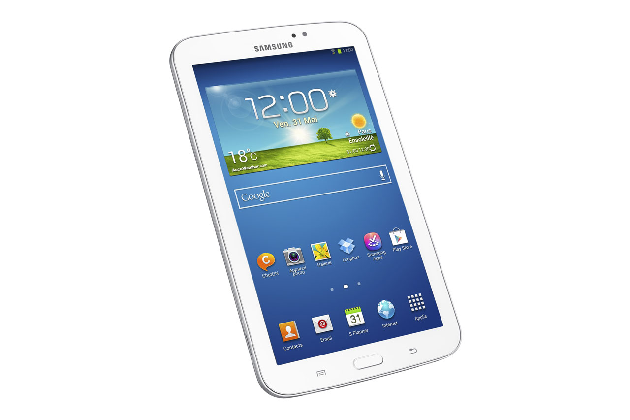 Samsung d voile ses galaxy tab 3 dont une version 10 for Photo ecran galaxy tab 3