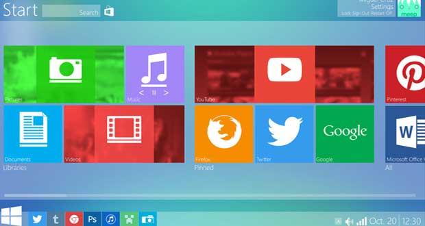 Windows 9 Concept design