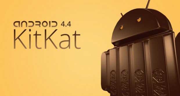 Mise à jour vers Android Kitkat, liste des terminaux concernés