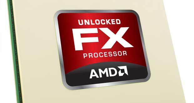 Processeur AMD FX series.