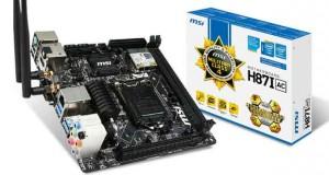 Carte mère MSI Mini-ITX H87I AC