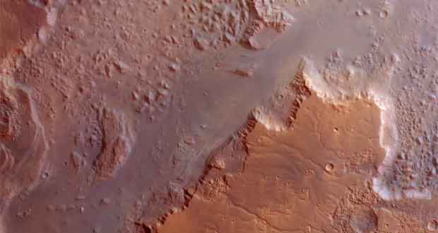 Mars photographié par le satellite Mars Expre