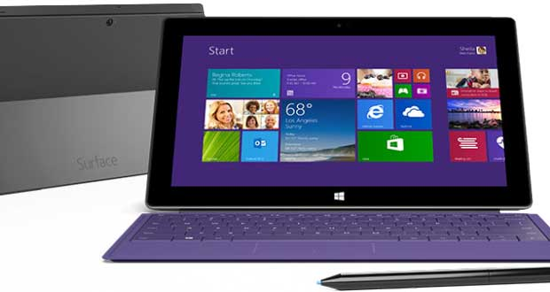 Tablette Surface Pro 2 de Microsoft
