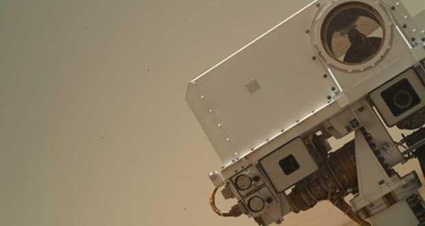 Rover Curiosity sur Mars
