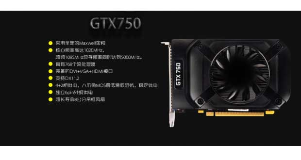 GeForce GTX 750 Maxwell