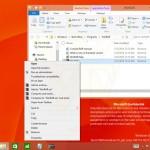 Windows 8.1 Update, capture d'écran