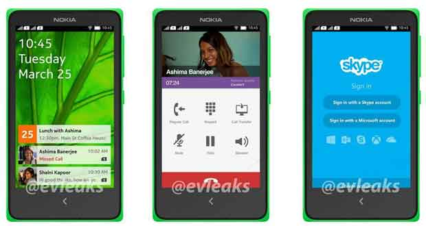 Nokia Normandy sous Android
