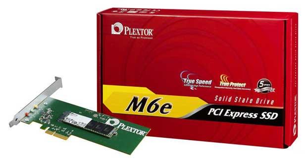 SSD PCI Express M6e de Plextor