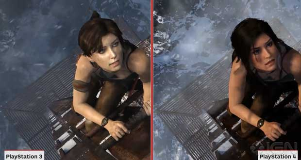 Tom Raider, PS3 Vs PS4