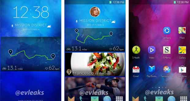 Samsung, nouvelle interface TouchWiz