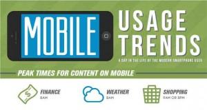Citrix Infographie, les usages avec les Mobiles