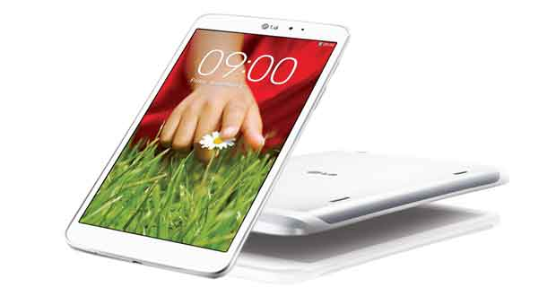 tablette G Pad 8.3 blanche