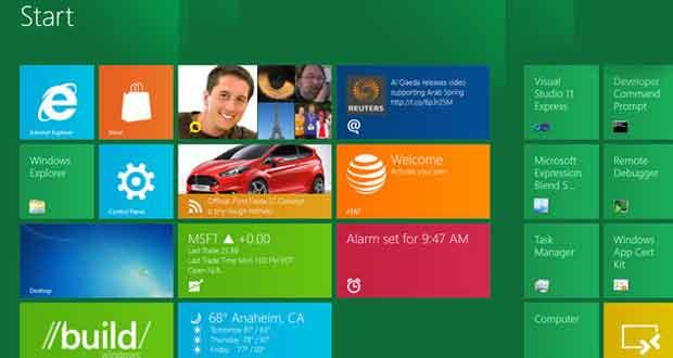 Windows 8, Interface Metro
