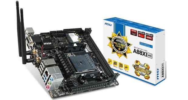 Carte mère MSI A88XI-AC