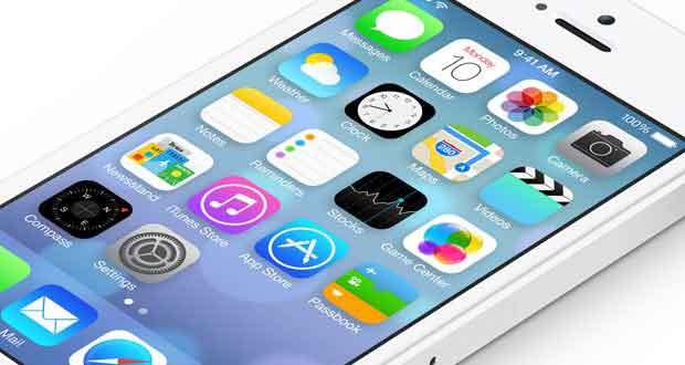 iOS 7 sur iPhone