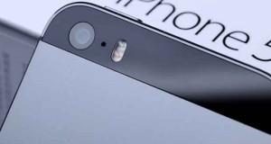 iPhone 5S, capteur CMOS arrière