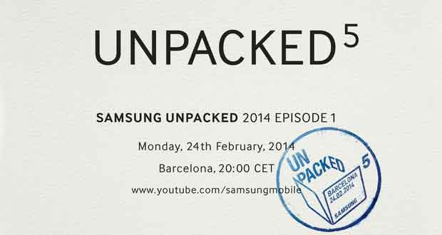 Invitation Samsung Unpacked 5