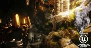 L'Unreal Engine 4 fonctionnant en ligne sans plug-ins