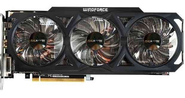 R9 280 WindForce OC de Gigabyte