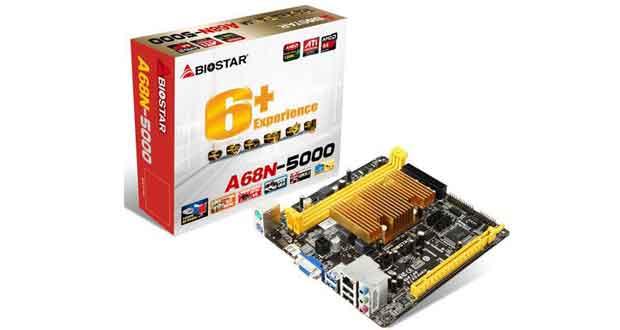 Carte mère Biostar A68N-5000