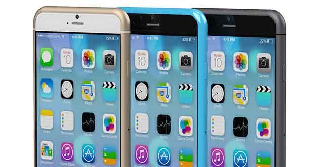 iPhone 6 : rendu 3D