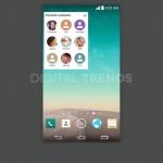 LG G3, Capture d'écran