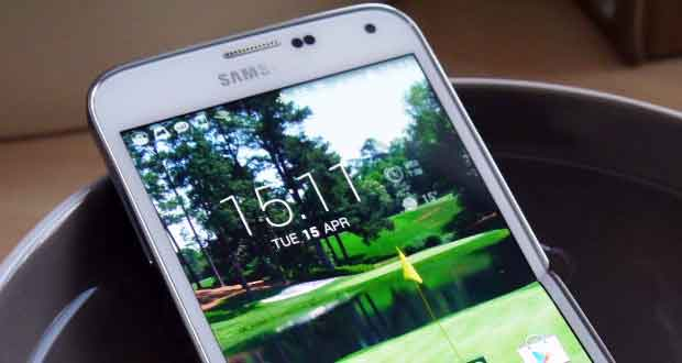 Galaxy S5, certification IP