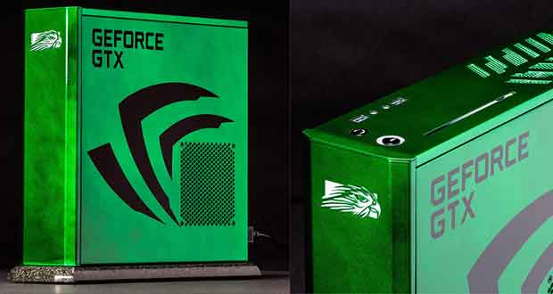 One-of-a-Kind Falcon Northwest Tiki Gaming PC