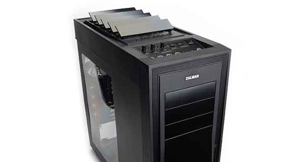 zalman h1 un boitier innovant avec vents automatiques ginjfo. Black Bedroom Furniture Sets. Home Design Ideas