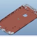Shéma 3D de l'iPhone 6