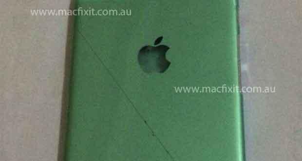 iPhone 6, sa coque en métal