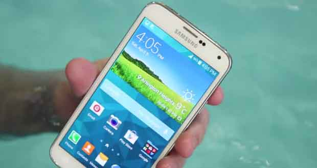 Galaxy S5 Water