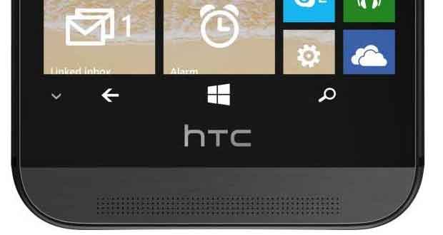 Version Windows Phone 8.1 du One M8 d'HTC