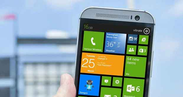One M8 Windows Phone 8.1