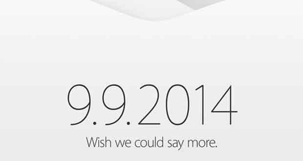 invitation Apple 2014