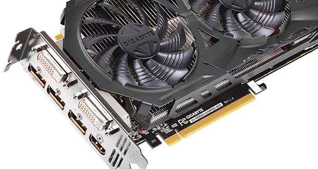 GeForce GTX 970 WIndForce 3X de Gigabyte
