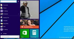 Windows 9 Menu Demarrer