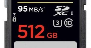 SanDisk Extreme Pro SDXC UHS-I 512 Go
