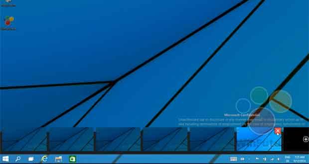 windows 9 comment fonctionnent les bureaux virtuels. Black Bedroom Furniture Sets. Home Design Ideas