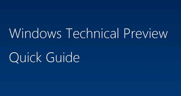 Windows 10 Quick Guide