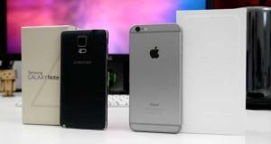 iPhone6 Vs Galaxy Note 4