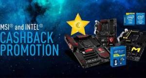 cashback (remboursement) sur les cartes mères X99 et Z97 avec les processeurs Intel série K