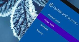 Windows 10 et le programme Windows Insider