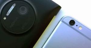 iPhone 6 Vs Lumia1020
