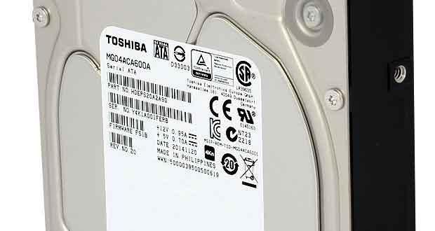 Disque dur Toshiba MG04 6 To